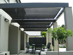 Residential - Pergola with panels