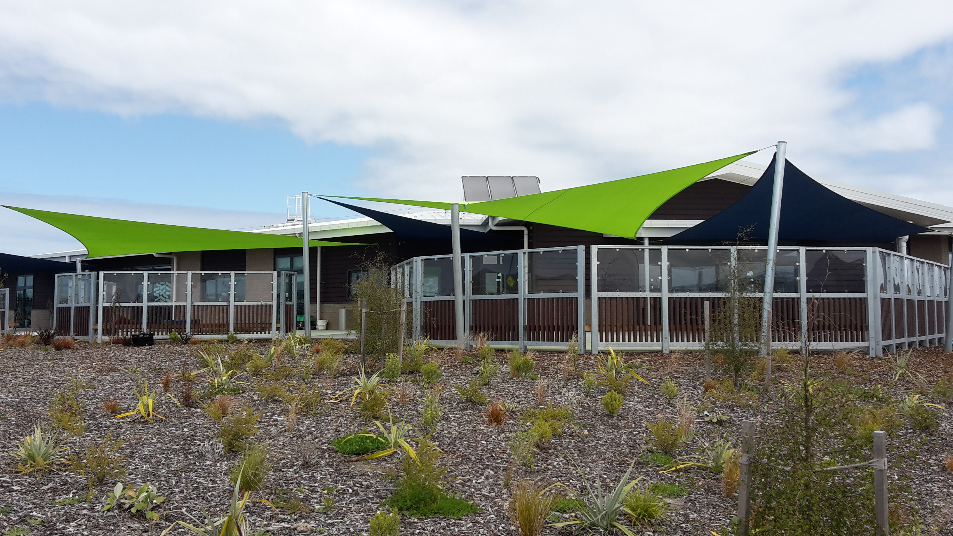 Shade Plus Ltd Shade Sails Awnings Drop Down Screens Shade Structures