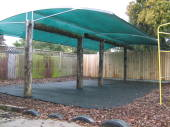 Using existing structure to provide the ideal shade